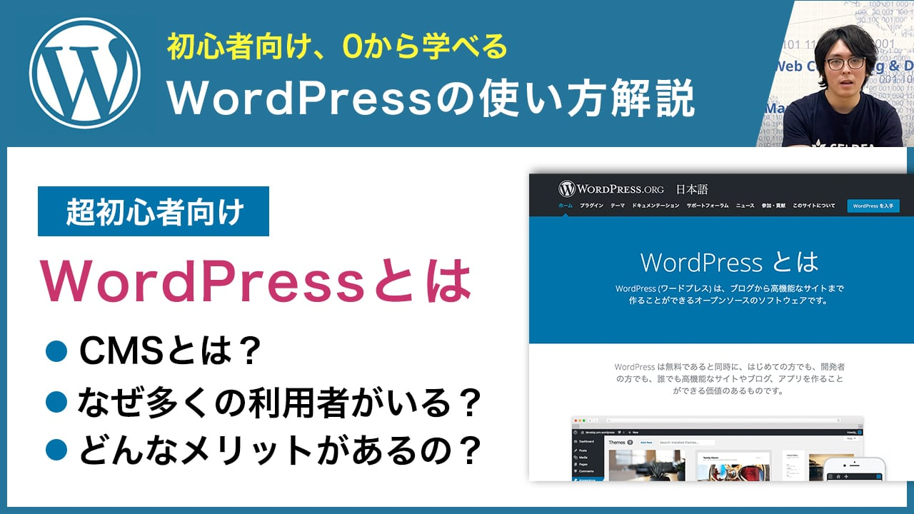 WordPressとは何か、CMSとしての特徴を徹底解説【初心者向け】