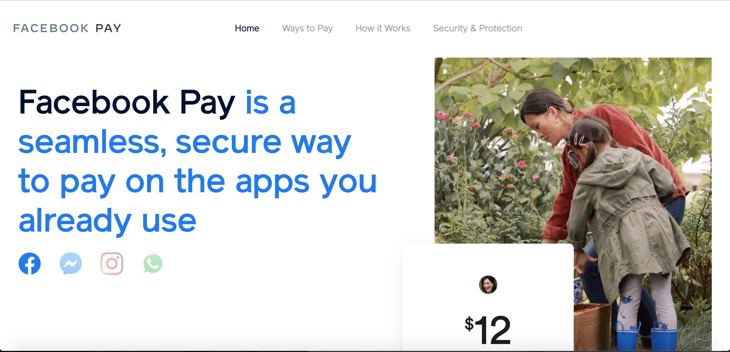 新たな支払い機能「Facebook Pay」 米国で提供開始