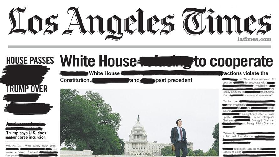 塗りつぶされた新聞…その意図とは?Amazonプライムビデオの新作映画配信キャンペーン