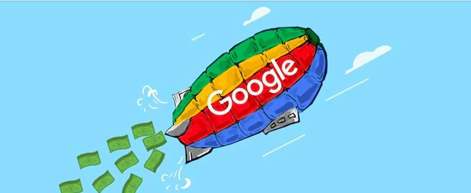 Google の検索広告、デザインリニューアルでますます曖昧にのキャプチャー