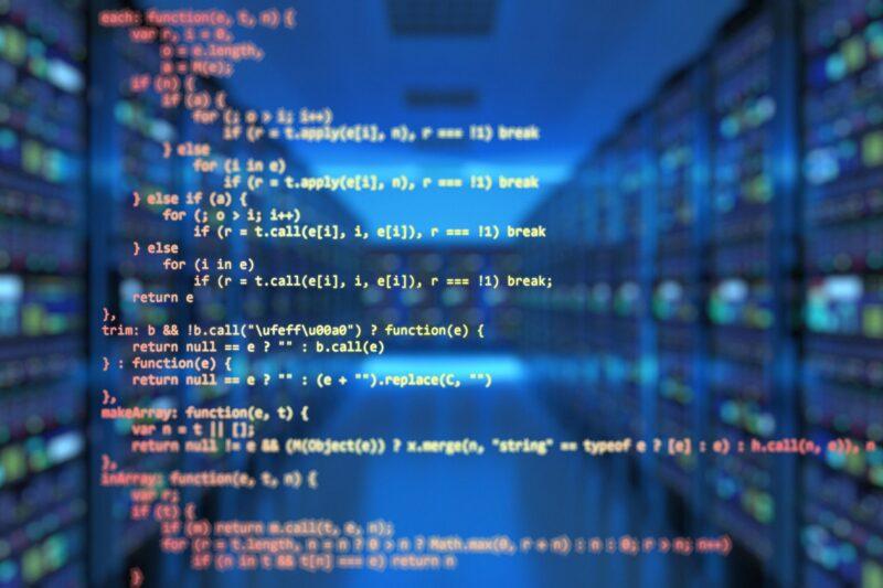 コードの写真